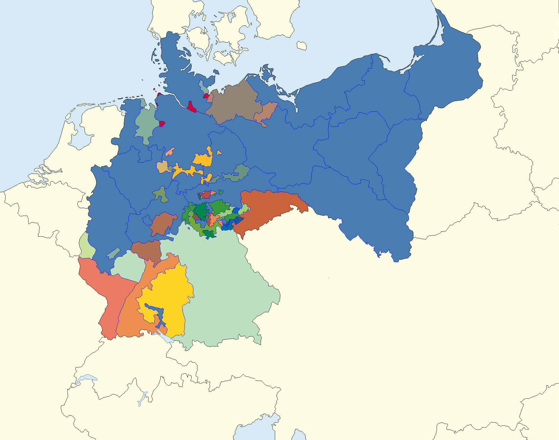 Image   Map of CV Germany 1918 1945.png | Alternative History