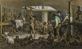 Navio negreiro - Rugendas 1830