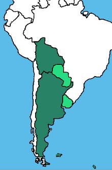 Republica Federal Argentina 1966 (Rebuild Map)