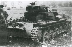 Destroyed Pz.Kpfw. I Ivančice