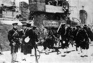 IJN marines dispatched to Tokyo during 2-26
