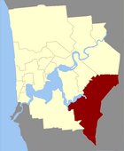 Map of Canning County