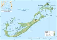 Topography of Bermuda