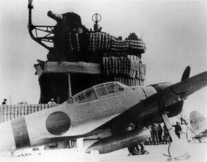 A6M2 on carrier Akagi 1941
