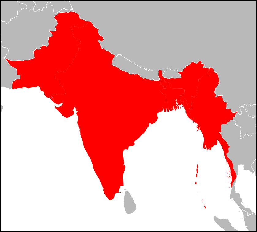 Image UnitedProvincesIndia Locationpng Alternative History - Map of united provinces india