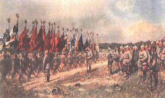 Смотр прусской армии