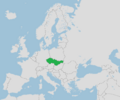 Location of Czechoslovakia (Similar Yet Different).png