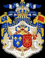 Герб Франции и Наварры