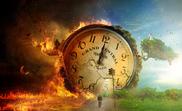 Heaven-hell-clock