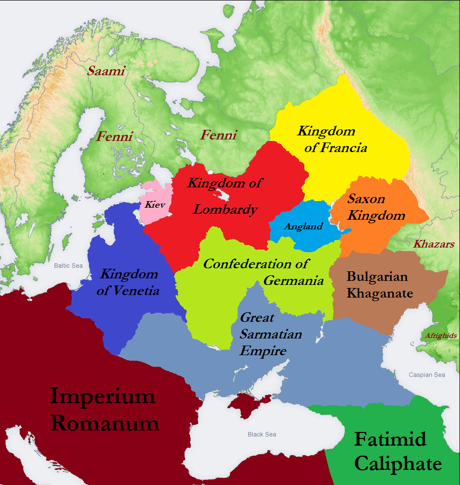 Image Map Of Eastern Europe Png Alternative History - Map of eastern europe