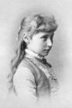 Princess Alix of Hesse 1881