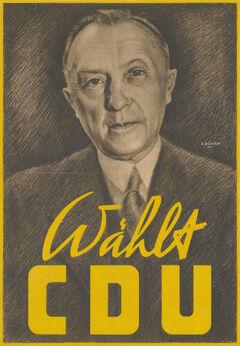 Плакат ХДС