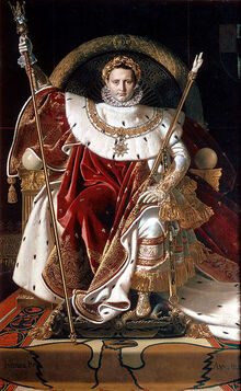 370px-Ingres, Napoleon on his Imperial throne