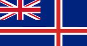 Bandera Islandia Británica