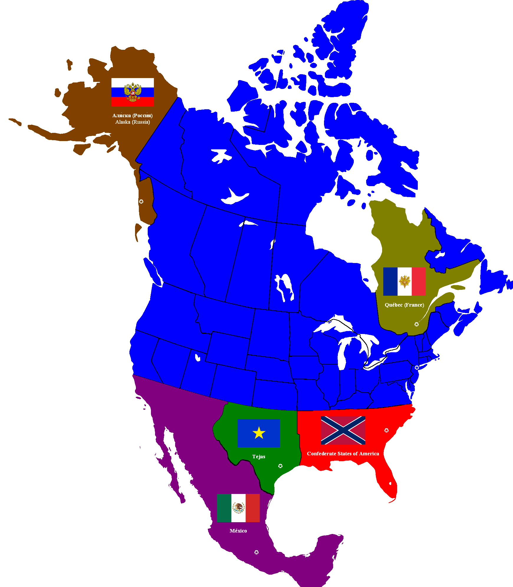 Federal States of America  Alternative History  FANDOM powered