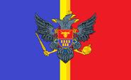 The Flag of Romania (Principia Moderni III Map Game)