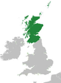 Карта Шотландии (МФиР)
