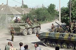 Федеральные войска в Кизляре