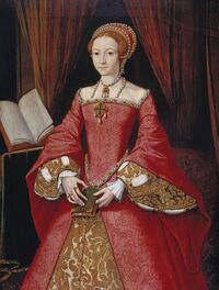 Elizabeth I when a Princess