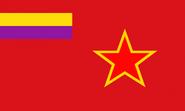 Flag of the Spanish FSR(Ok Stalin)