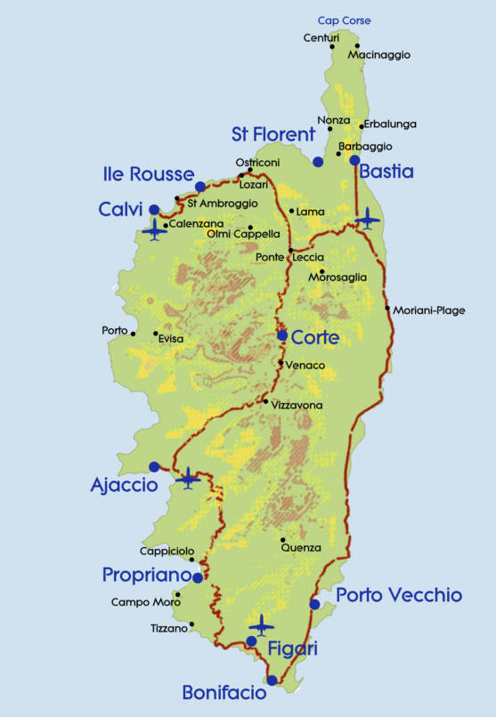 Image - Map-Corsica.jpg | Alternative History | FANDOM powered by Wikia