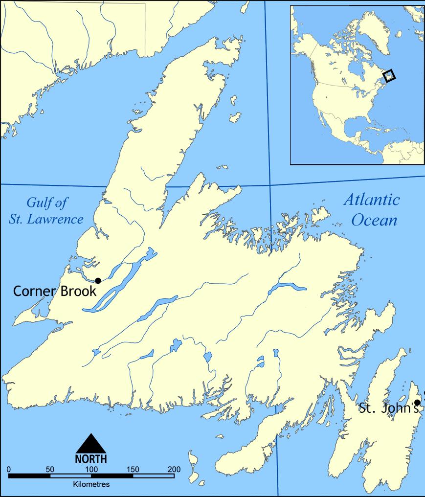 Image - Newfoundland map.png | Alternative History | FANDOM powered ...