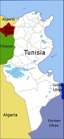 Tunisia Doomsday Alternative History FANDOM Powered By - Tunisia cities small scale map
