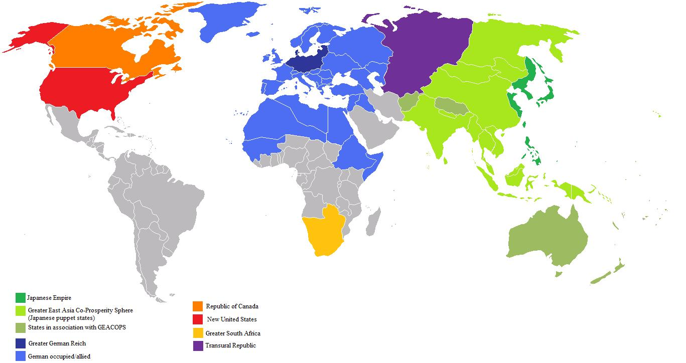 Image - Fascistusaworldmap.jpg | Alternative History | FANDOM ...