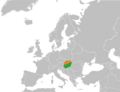 Hungary Slovakia Locator.png