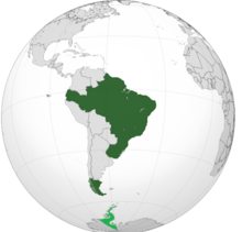 Map of Brazil (Parallel Brazil)