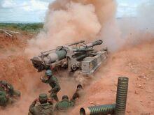AMX MK F3-155 FVenezuela-action