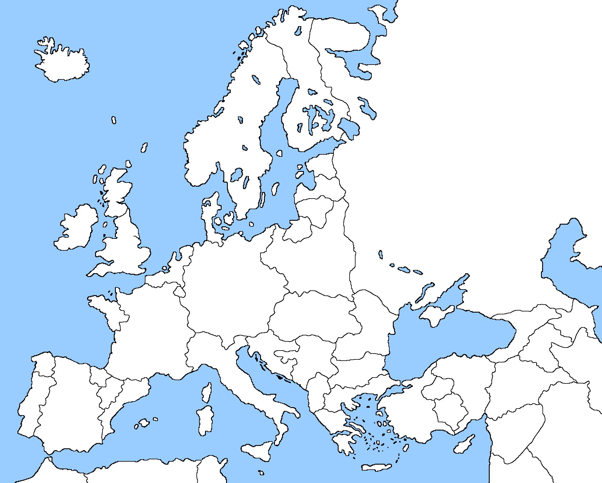 blank map of europe 1918 im outdatedpng