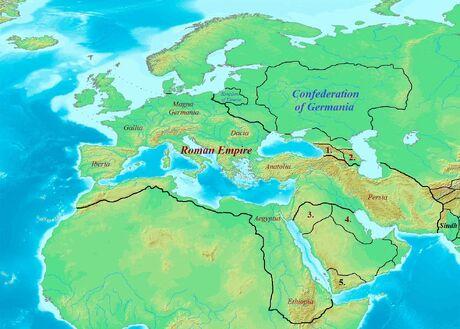 Europe (621 CE)