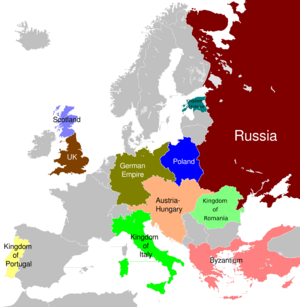 Europe Differently painted