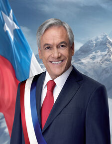 Fotografía oficial del Presidente Sebastián Piñera - 2