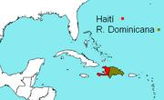 Hispaniola mapa