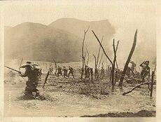 Наступление итальянских войск