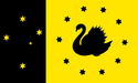 Flag of Cygnia with 10 stars.png