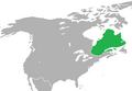 Location of Quebec (King of America).png