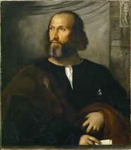Titian - portrait-of-a-bearded-man