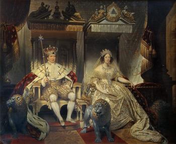 Кристиан VIII с женой