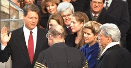 Al gore inauguration 2
