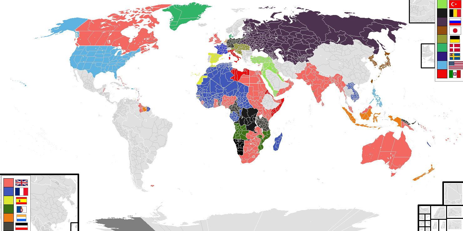 Image   BlankMap World Subdivisions 1914.png | Alternative History