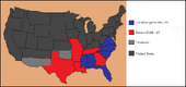 Electoral Map 1866 (Give Them the Bayonet!)