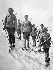 Османские лыжники