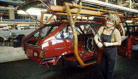 Сборщица на конвейере АвтоВАЗ 1993 год