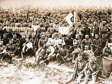 Сербские войска в Черногории