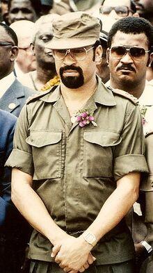 Desi Bouterse 1985