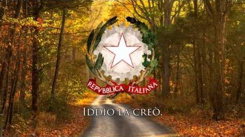 "National Anthem of the Italian Republic - ""Il Canto degli Italiani Inno di Mameli"""