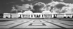 Old Parliament House 2003 B&W